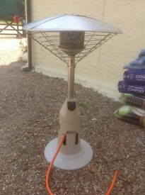 Used 2 times quick heat patio heater