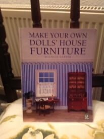 Built frombought house instructions.plus plans for cabin and book on dolls house furniture
