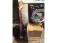 Squier fender jag master and bezcat 35 watts v35rg