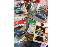 MG magazines 50 plus