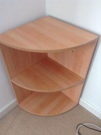 Corner Shelf - Beech Effect for Sale