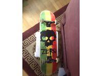 Used zero skateboard