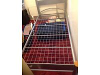 Single bed fram used but in good condition