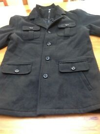 Boys black coat