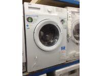 Beko white 6kg 1400spin washing machine. £179. New/graded 12 month Gtee