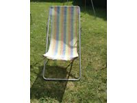 3 position deck chair,good condition