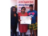 English B1 Test & English A2 Test - 99% PASS RATE + FREE RETRAINING (Nottingham)