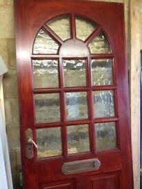 Exterior Solid Wood Front Door