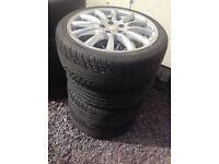 Set of 4 Jaguar Tyres 205/40R17 84W