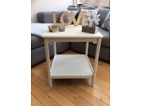Shabby chic style painted coffee table/bedside table