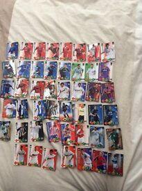 47 panini 2009-10 champions league football cards £3 Bargain!