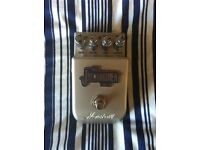 Marshall Overdrive/ Distortion pedal.