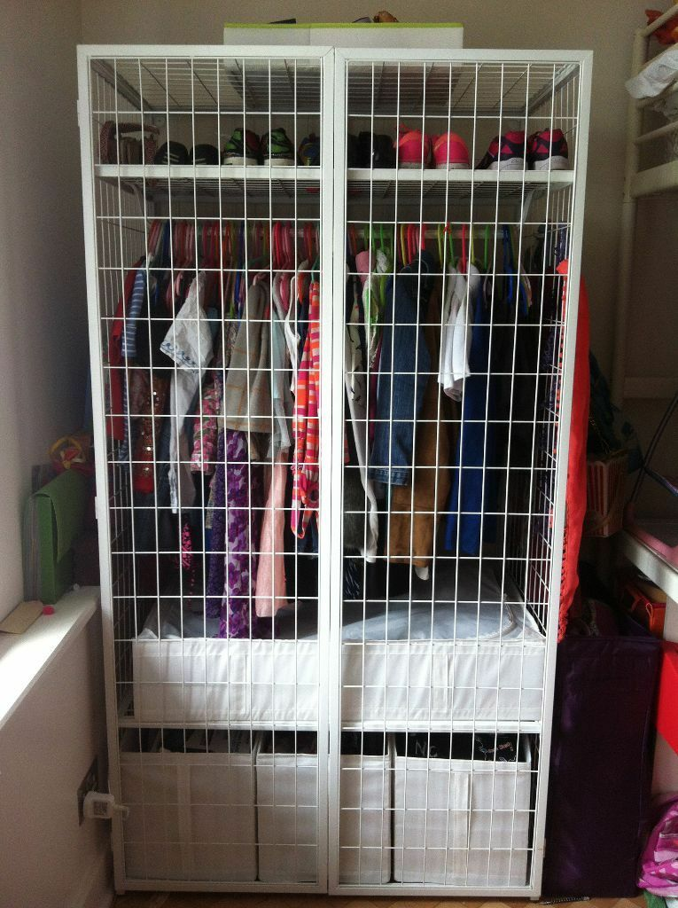 ikea ps 2014 wardrobes in white in richmond london gumtree. Black Bedroom Furniture Sets. Home Design Ideas
