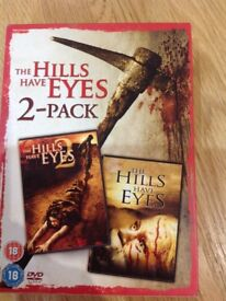 DVD The hills have eyes 2-pack
