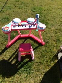 Childs toy keyboard