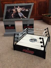 WWE wrestling ring and stage entrance