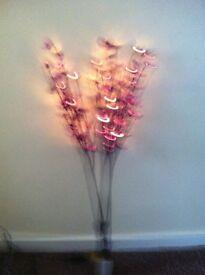 Purple indoor flower lights