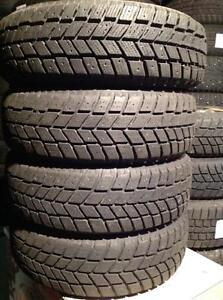 4 pneus d'hiver 185/65 r14 hankook pike rco1.   140$