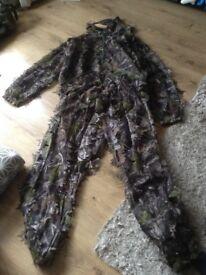 Gillie mesh suit