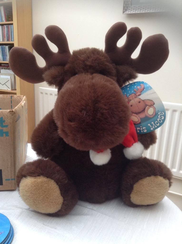 BHS Moose toy and small bear