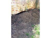 Free top garden soil