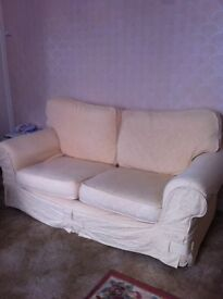 Sofas Two Seater Removable covers ! Nice condition hardly used
