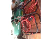 2 x Qualcast Lawnmowers - spares/repair
