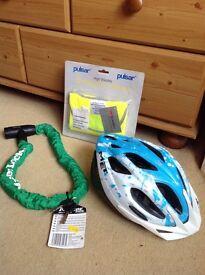 Bike Bundle NEW (chain, helmet & hi-vis)