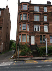 Fully furnished ground floor(main door) 2 bedroom flat, Clarence Drive, Hyndland, West End
