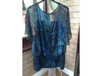 Monsoon sequin top