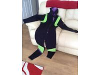 Wet Suit, Semi Dry Suit, Boots Size 9, Buddy Commando, Mares Open Finns, Regulaters and Accessories