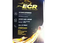 ECR expert car repair specialist in Mercedes-Benz 18 years dealer experience