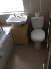 Fully furnished double room available in 3 bedroom house in Cathays