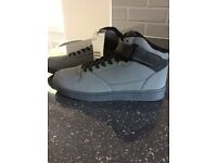Brand new size 9 Men's grey hi tops