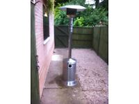 Stainless Steel Patio Heater - Full Size