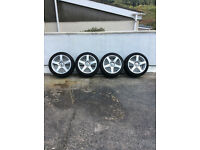"17"" BK Racing Alloys - Alloy Wheels"