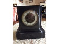 Slate Clock for Restoration with Key NOW SOLD