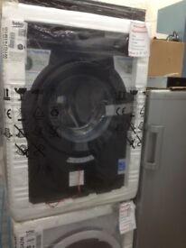 Beko 7kg 1400spin washing machine. Black. £210. New in package 12 month Gtee