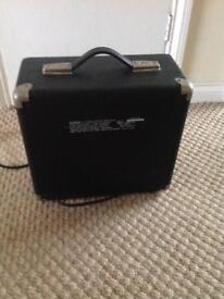Fender squire 15 watt guitar amplifier(1980's) original fender.