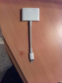 Apple iphone to tv adapter