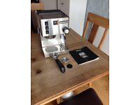 Rancilio Silvia espresso machine.