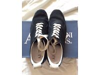 Men's Armani Black Suede Shoes UK Size 9 - Rarely Worn