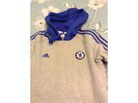 Adidas grey Chelsea hoodie