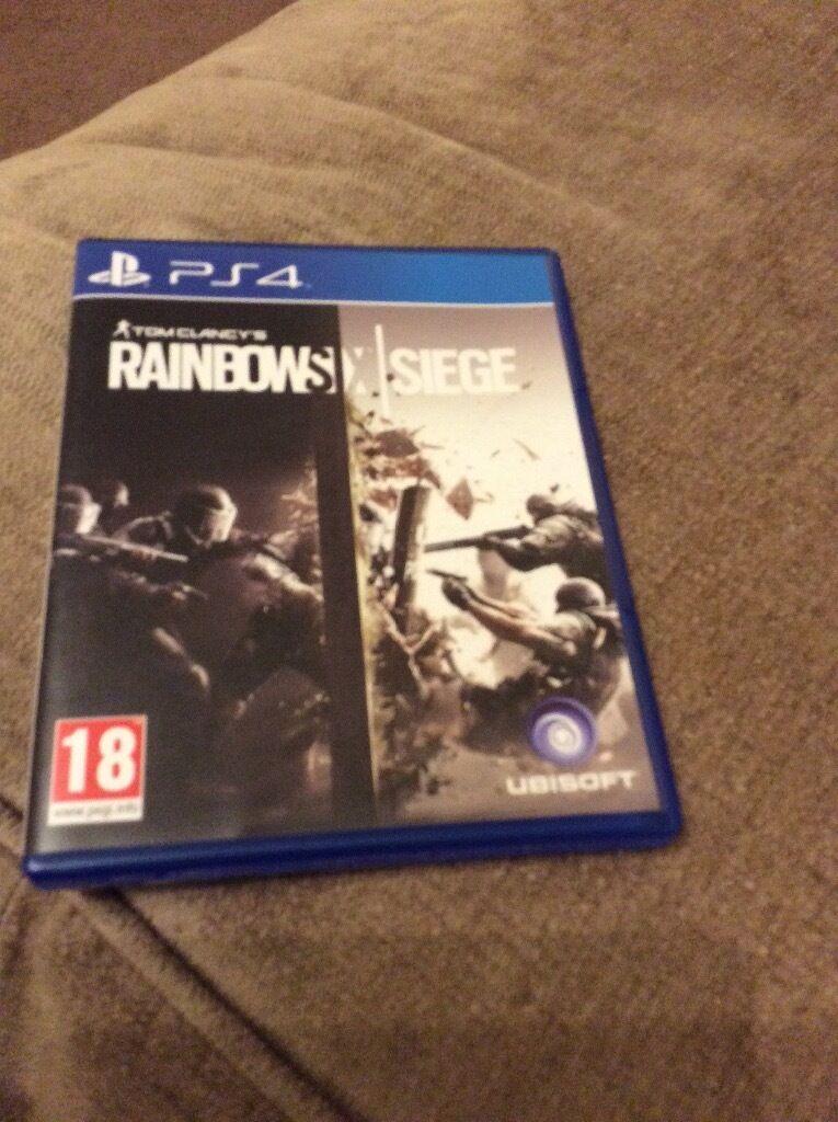Rainbows X Siege PS4