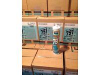 Black Dow Corning 791 weatherproofing silicone sealant adhesive fixing BARGAIN......