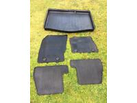 Genuine Ford Focus 2015 Protection pack - rubber mats and boot liner