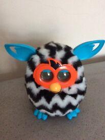 Furby Boom Zebra Style Electronic Toy