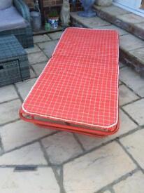 Fold-up Single Bed.