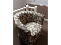 For Sale Two tub chairs plus footstool
