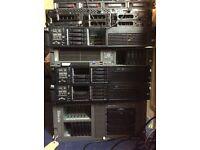 HP PROLIANT DELL SERVER JOB LOT or INDIVIDUAL PURCHASE G7 G6 G5 Netgear Blade 250GB 300GB 146GB SAS